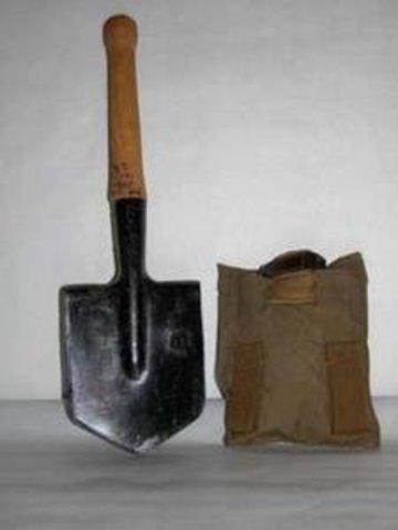 Лопата пехотная малая 50см (в чехле)