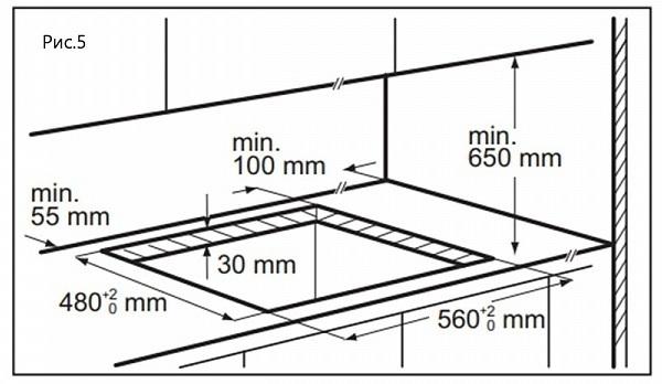 Газовая варочная панель Maunfeld EGHG.64.6CBG/G