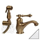 Смеситель Migliore Bomond ML.BMD-9714 Cr для раковины с гигиеническим душем