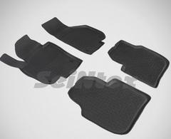 Резиновые коврики для Skoda Superb (2008-2015), высокий борт