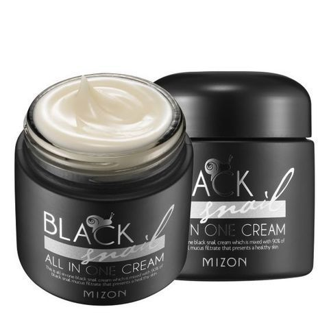 Mizon Black Snail All In One Cream крем для лица с экстрактом черной африканской улитки