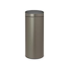 Мусорный бак Touch Bin New (30 л), Платиновый