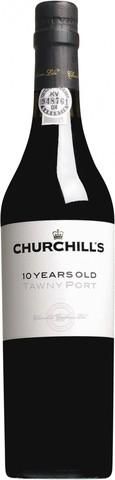 Портвейн Churchill's, Tawny Port 10 Years Old, 0.5 л