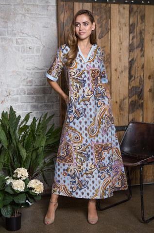 Платье домашнее длинное  MIA-MIA  ELINOR ЭЛИНОР 16348