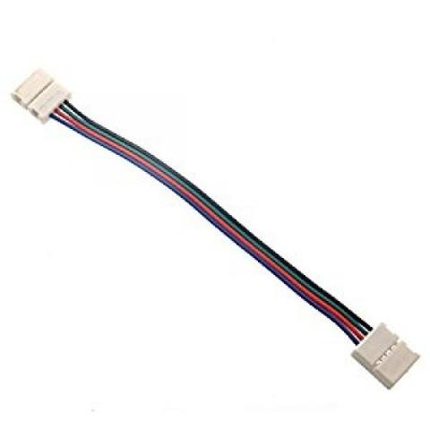 Коннектор для светодиодных лент RGB 10 мм двусторонний