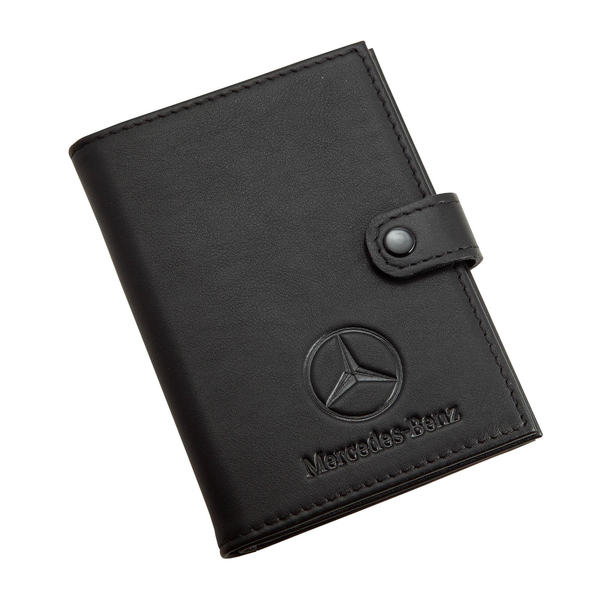 Портмоне для автодокументов и паспорта Mercedes-Benz