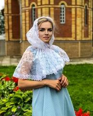 Женский церковный платок