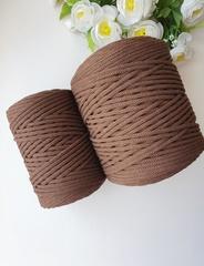 Шоколад  Хлопковый шнур 4 мм