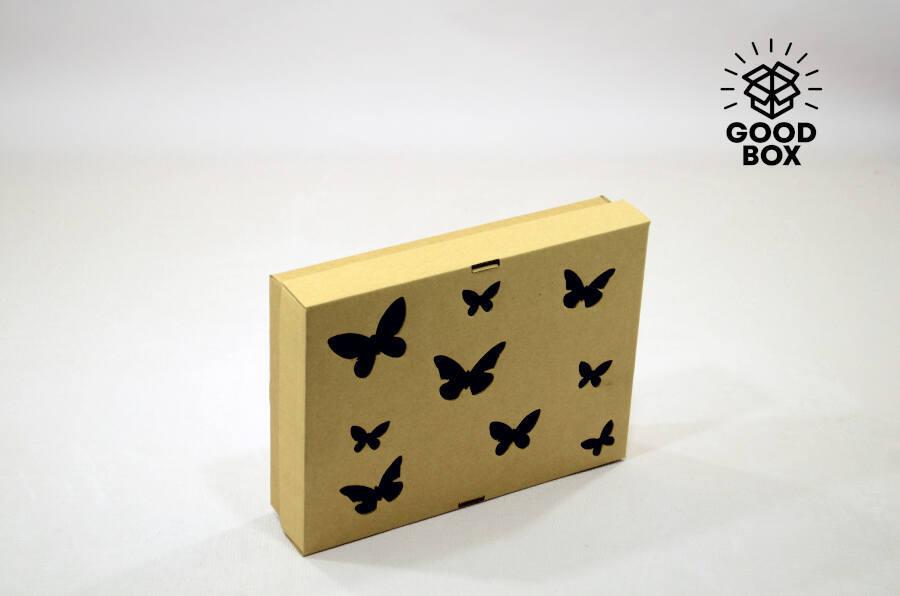 Подарочная коробка с бабочками купить в Казахстане