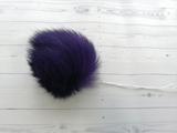 Помпон кролик фиолетовый 7 см