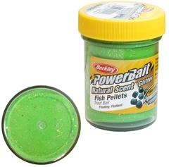 Паста Berkley PowerBait Natural Scent Trout Bait (пеллетс/зеленый)