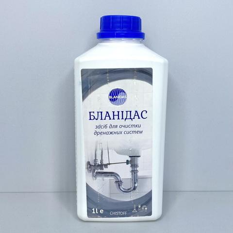Средство для чистки дренажных систем Бланидас (жидкое) 1 л