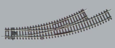 PIKO 55227 Стрелка левая радиусная BWL-R3, 1:87