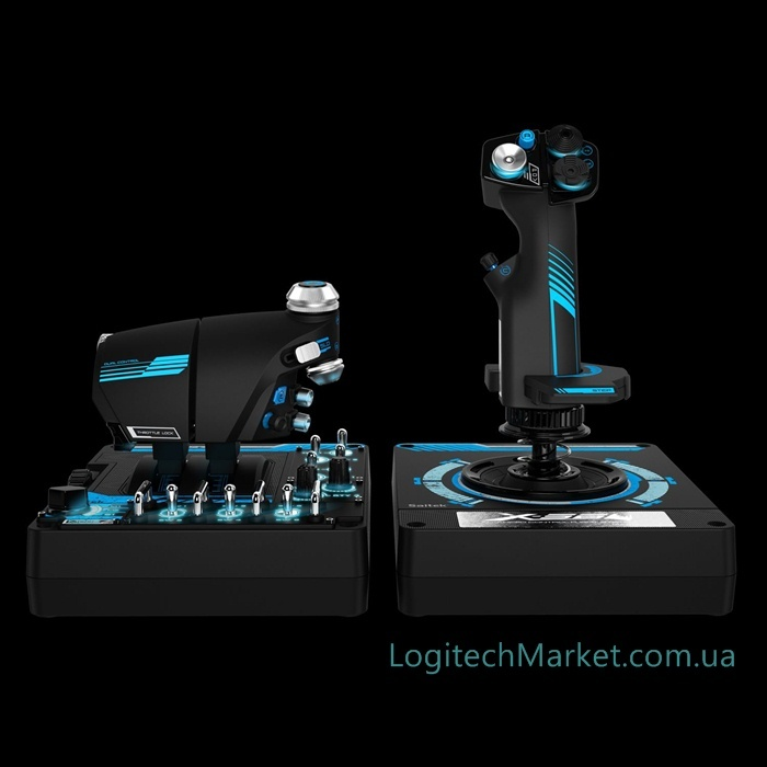 Logitech G X56 HOTAS RGB Throttle and Stick Simulation Controller