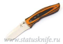 Нож Lightfoot Bull Whip BG42 G10 Orange