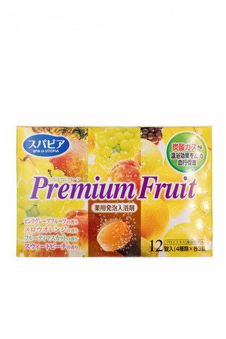 Соль для ванны с  ароматом сочных фруктов 12 табл