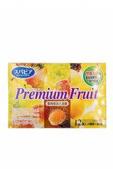 Соль для ванны Fuso Kagaku с тонизирующим эффектом и ароматом сочных фруктов 12 таб