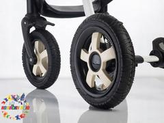 Ремонт колеса коляски