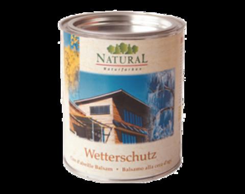 NATURAL WETTERSCHUTZ/НАТУРАЛ ВЕТТЕРСЧАТЦ масло для наружных поверхностей
