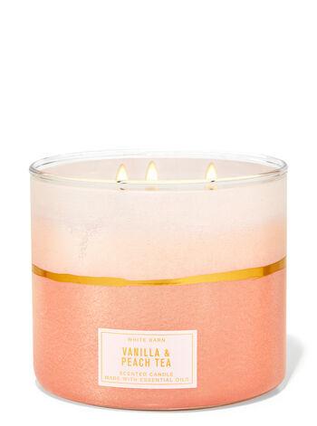 Свеча  Bath&BodyWorks Vanilla & Peach Tea 411 г.