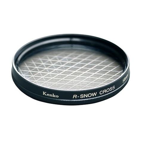 Эффектный фильтр Kenko R-Snow Screen на 58mm (6 лучей)