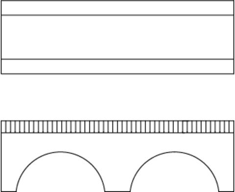 Небольшой каменный мост, (H0)
