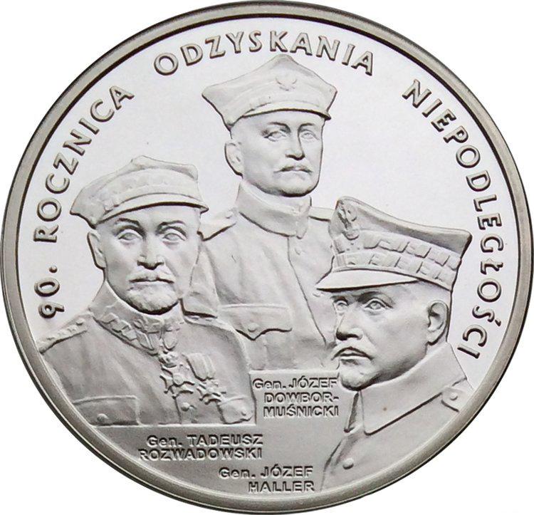20 злотых. 90-летие восстановления независимости. 2008 год. Польша.