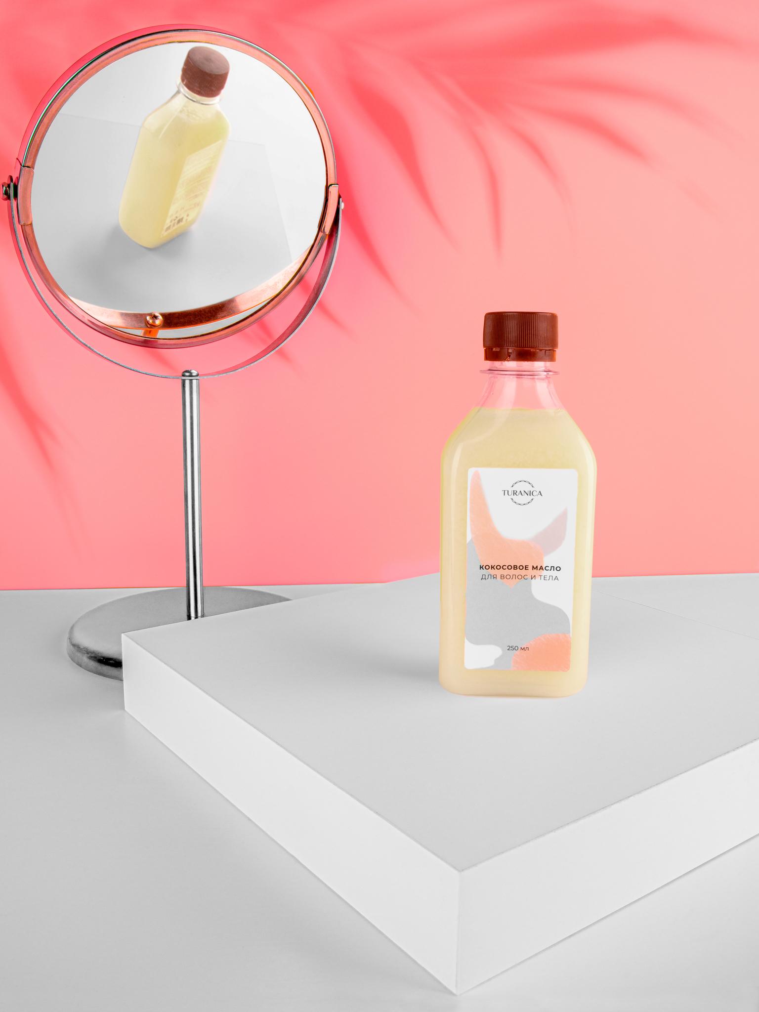 Кокосовое масло Turanica для волос и тела
