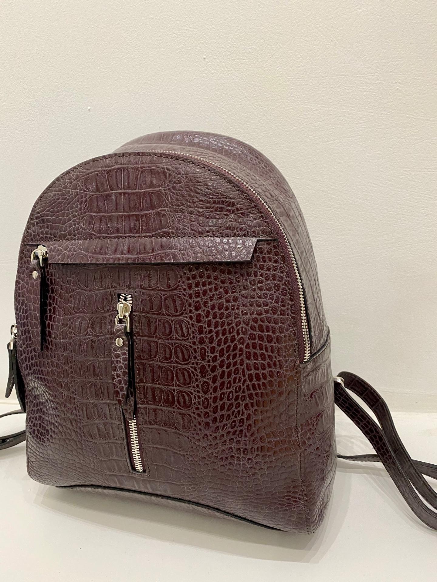 3020 Д пурпурный/аллигатор  Рюкзак