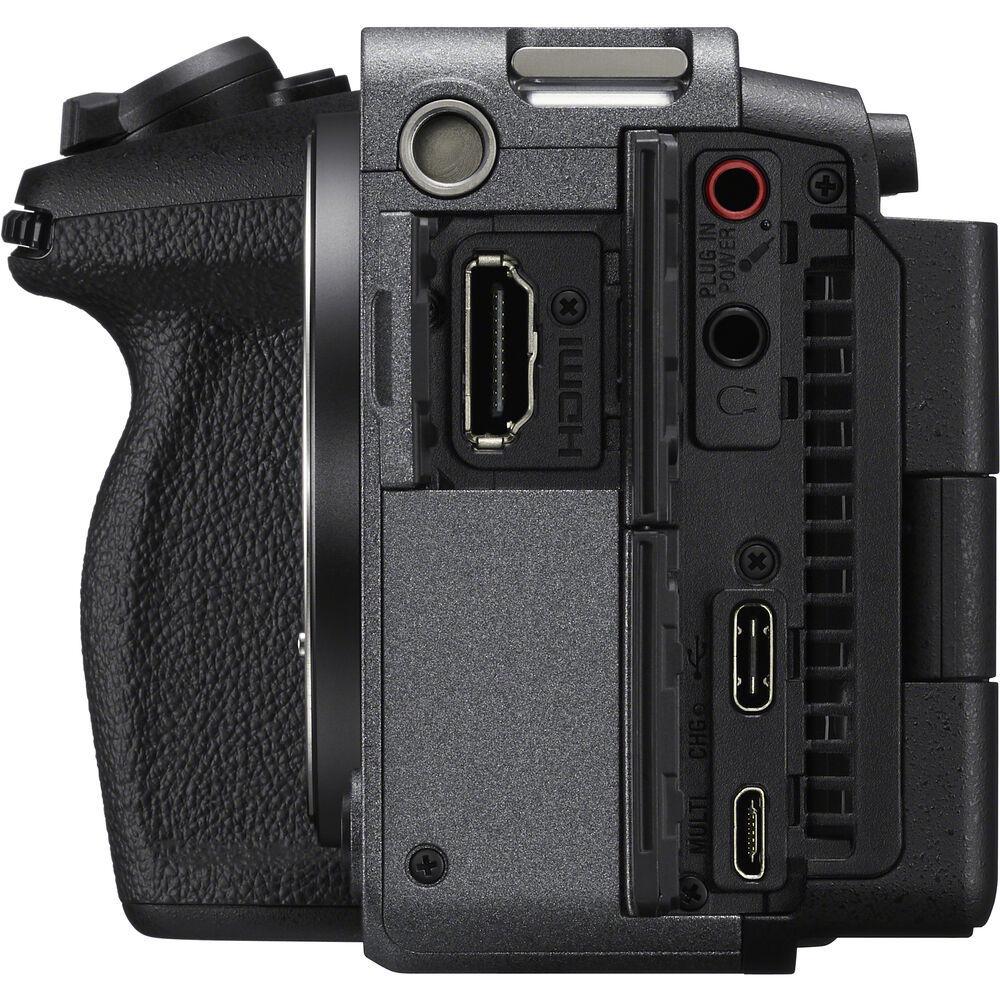 Разъёмы в полнокадровой камере Sony Alpha ILME-FX3