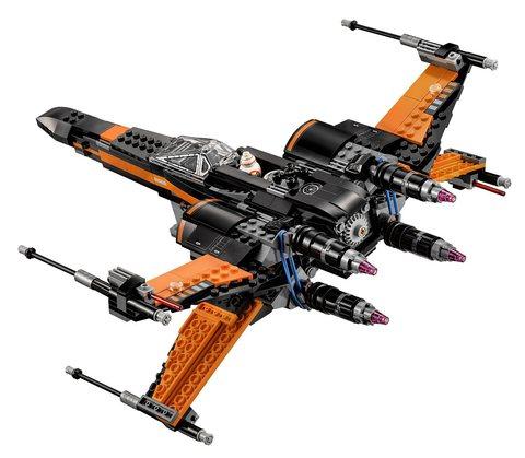 LEGO Star Wars: Истребитель По 75102 — Poe's X-Wing Fighter — Лего Звездные войны Стар Ворз