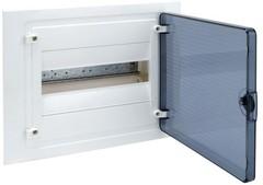 Щит скрытой установки, 12М, с прозрачной дверцей