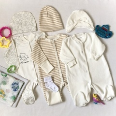 Набор одежды для новорожденных в роддом, универсал, вид 2