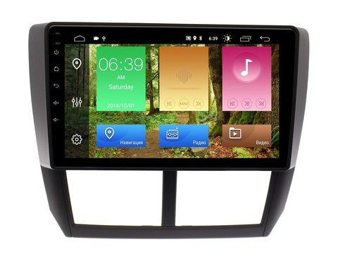 Магнитола Subaru Forester 2008-2012/Impreza 2007-2011 Android 10 IPS DSP модель CB 7027T4