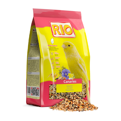 Rio Сухой корм для канареек в период линьки