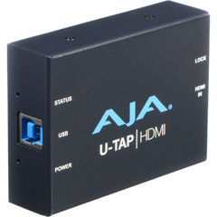 Устройство видеозахвата AJA U-TAP USB 3.1 Gen 1 Powered HDMI Capture Device