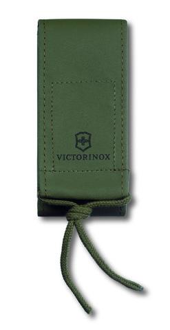 Чехол Victorinox для ножей 130 мм, до 3 уровней из иск. кожи, на липучке, зеленый