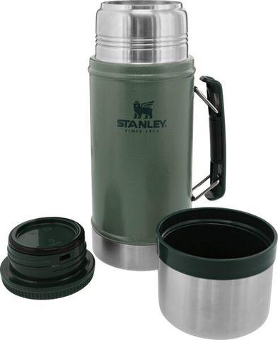 Термос для еды Stanley Classic (0,94 литра), темно-зеленый