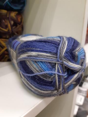купить пряжу для носков  Gruendl Hot Socks Garda 04