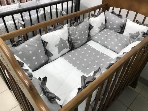 Комплект в кроватку Звездочка, на 4 стороны кроватки