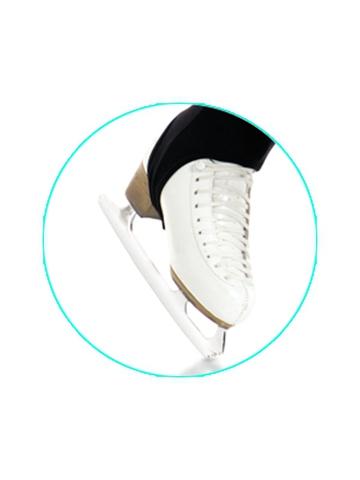 Лосины под ботинок (черные) IceDress