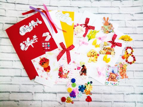 036-5508 Набор для изготовления 3 открыток