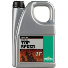 Motorex масло моторное Top Speed 4T 10w40 4L