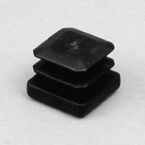 PS6901050025 Втулка для кв.трубы 25х25 мм., черная