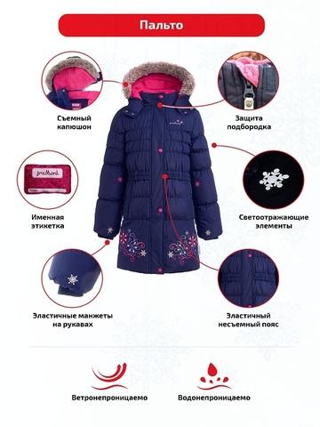 Особенности пальто Premont Маршмеллоу navy