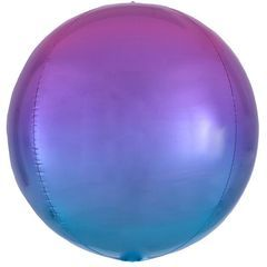 А Сфера 3D Омбре Розовый и Голубой в упаковке, 16