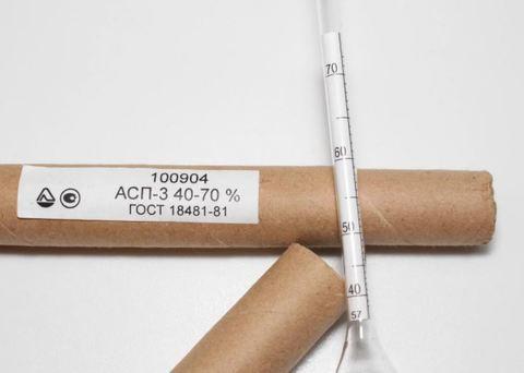 Ареометр АСП-3 (40-70)