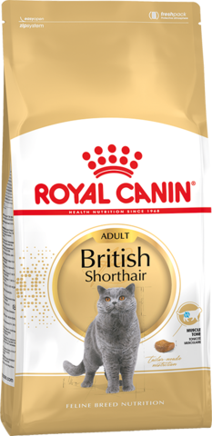 Royal Canin British Shorthair для взрослых кошек породы британская короткошерстная