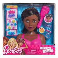 Голова для причёсок Барби Темные волосы