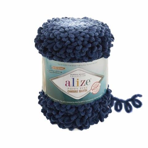 Купить Пряжа Ализе Пуффи Файн Омбре Батик - цвет 7266 | Интернет-магазин пряжи «Пряха»